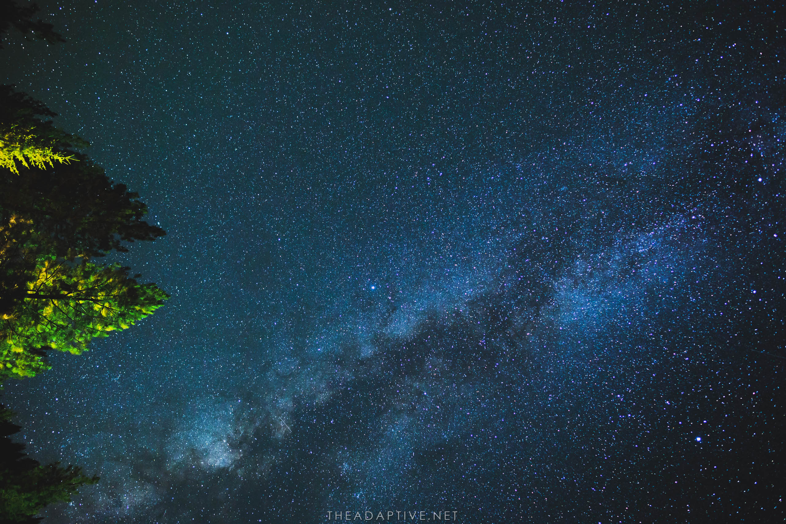 Milky Way in Featherville by Shane Cotee.